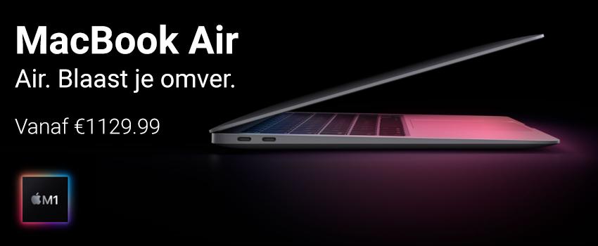 apple macbook air banner